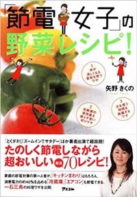 節電女子の野菜レシピ 矢野きくの節約レシピ本